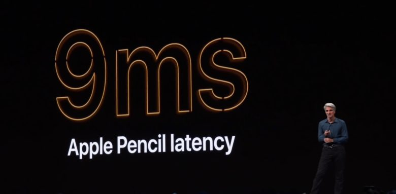 Apple Pencil in iPadOS 13 decreased latency