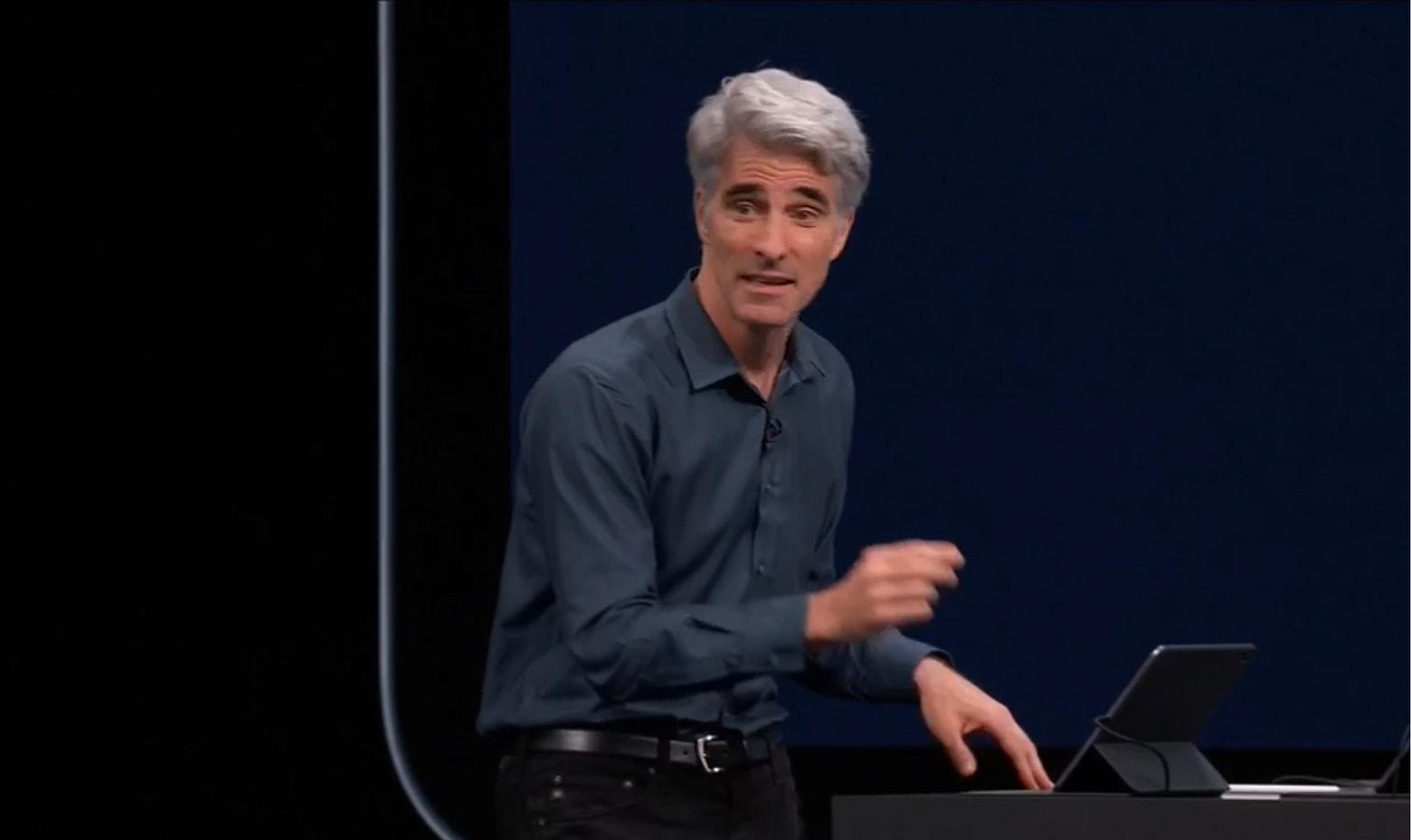 Craig Federighi Apple SVP of Software Engineering