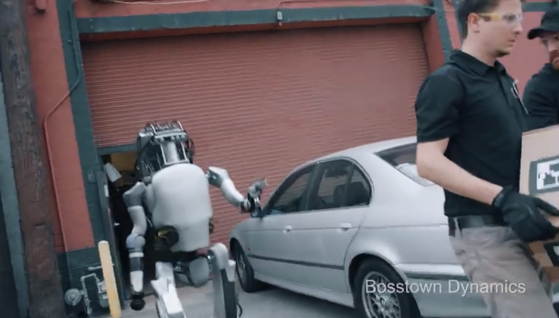 Robots Fight Back in Hilarious Boston Dynamics Parody Video
