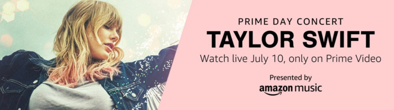 Taylor Swift Will Headline Special Gig For Amazon Prime Day