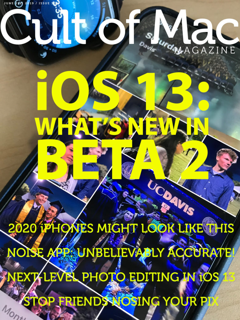 What's new in iOS 13 beta 2? Find out in Cult of Mac Magazine.