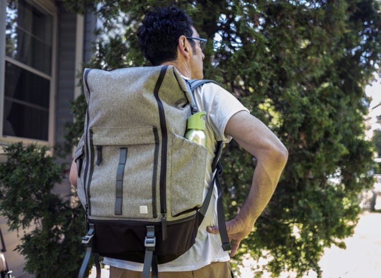 backpack review: The Moshi Captus backpack has a 45-liter main compartment