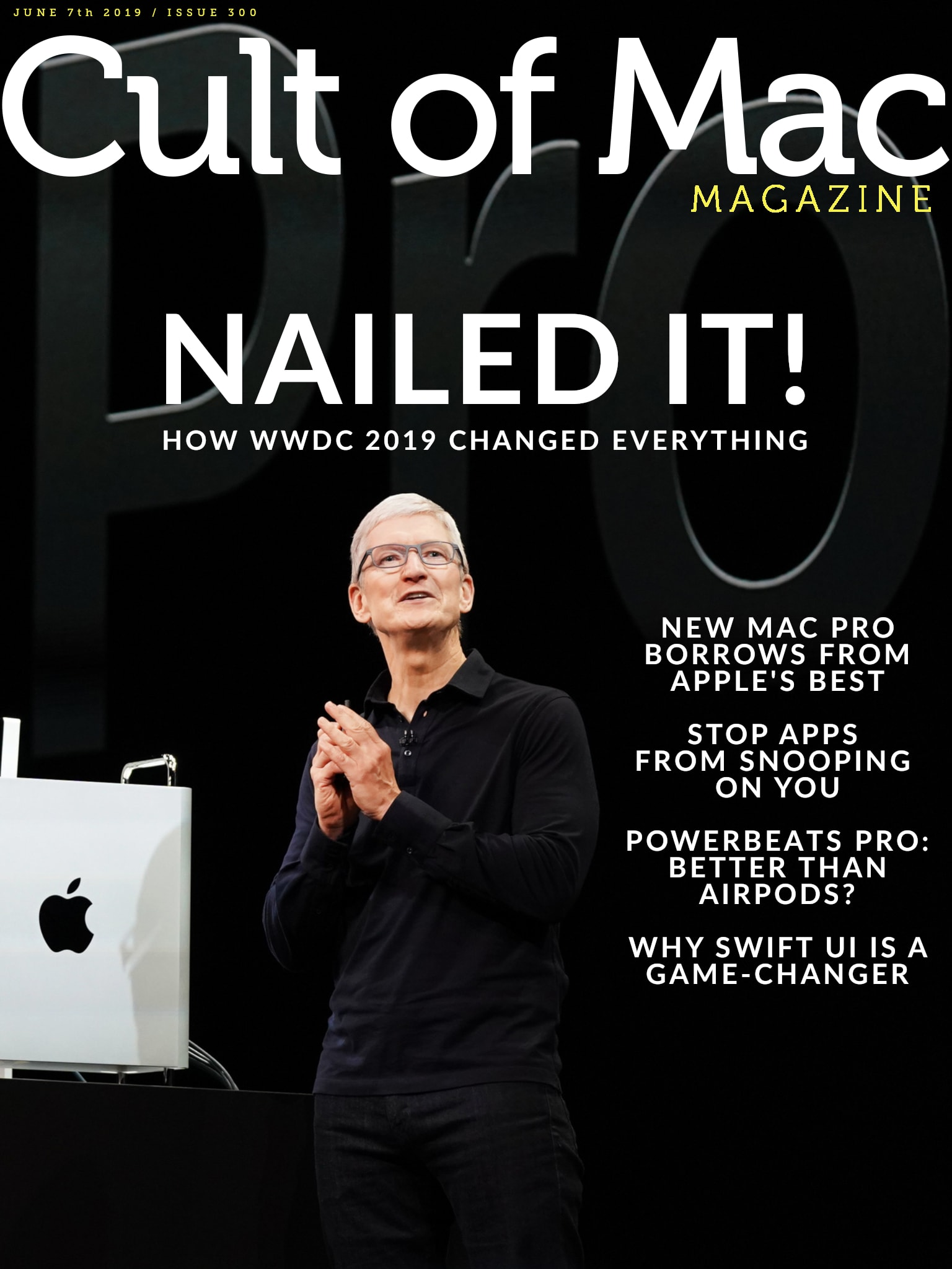 Cult of Mac Magazine No. 300 cover