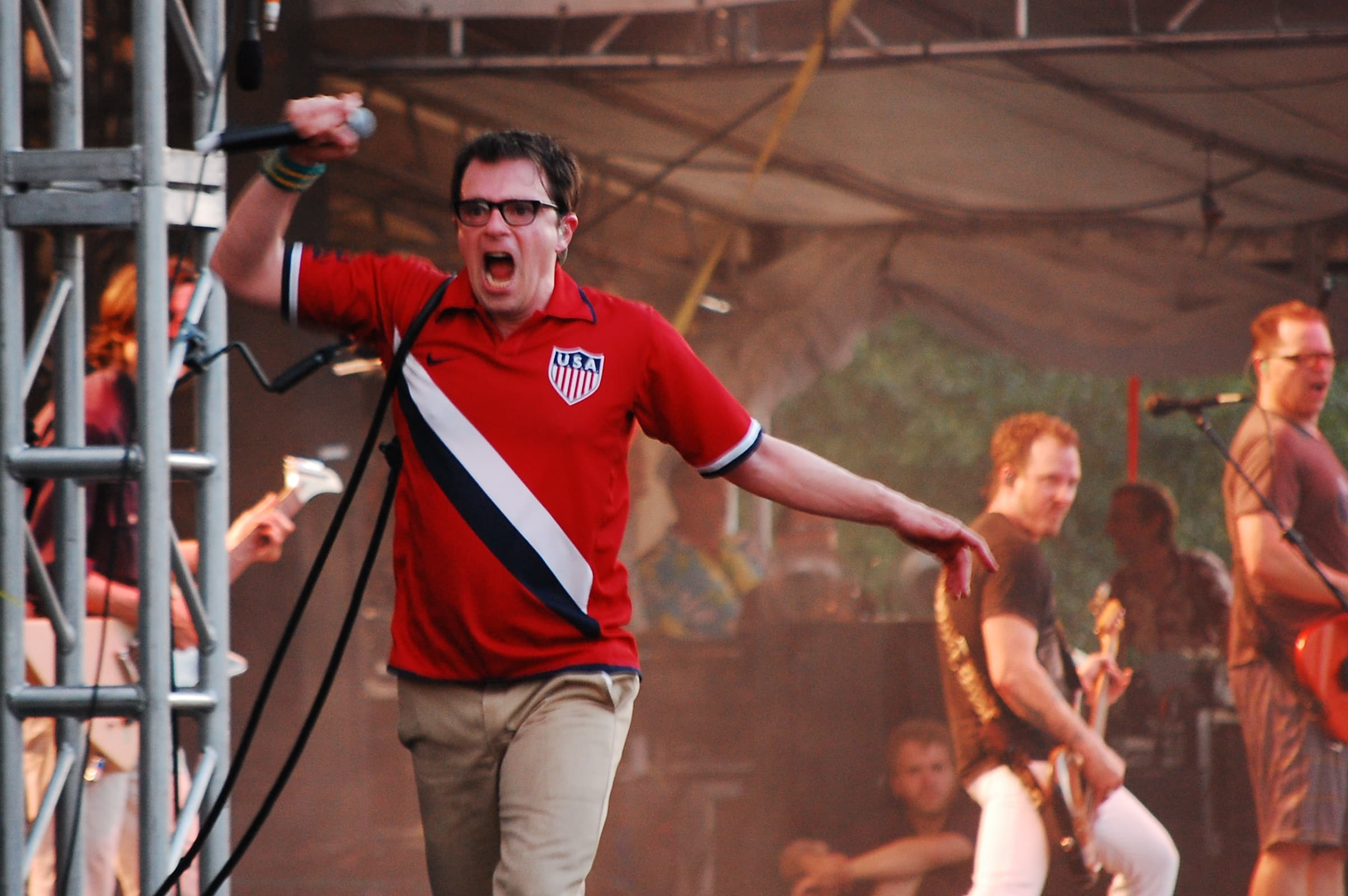 Weezer's Rivers Cuomo is ready to rock Apple's WWDC19 Bash.