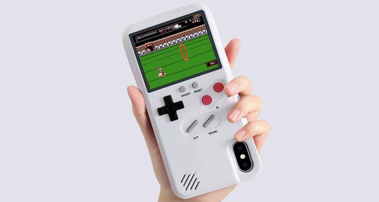 This Game Boy Color iPhone case the ultimate second-screen experience for retro game fans.