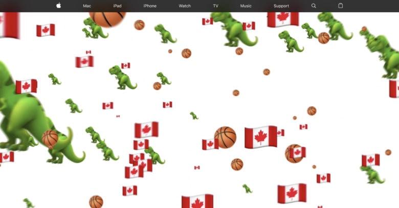 Apple-Toronto-Raptors-animation