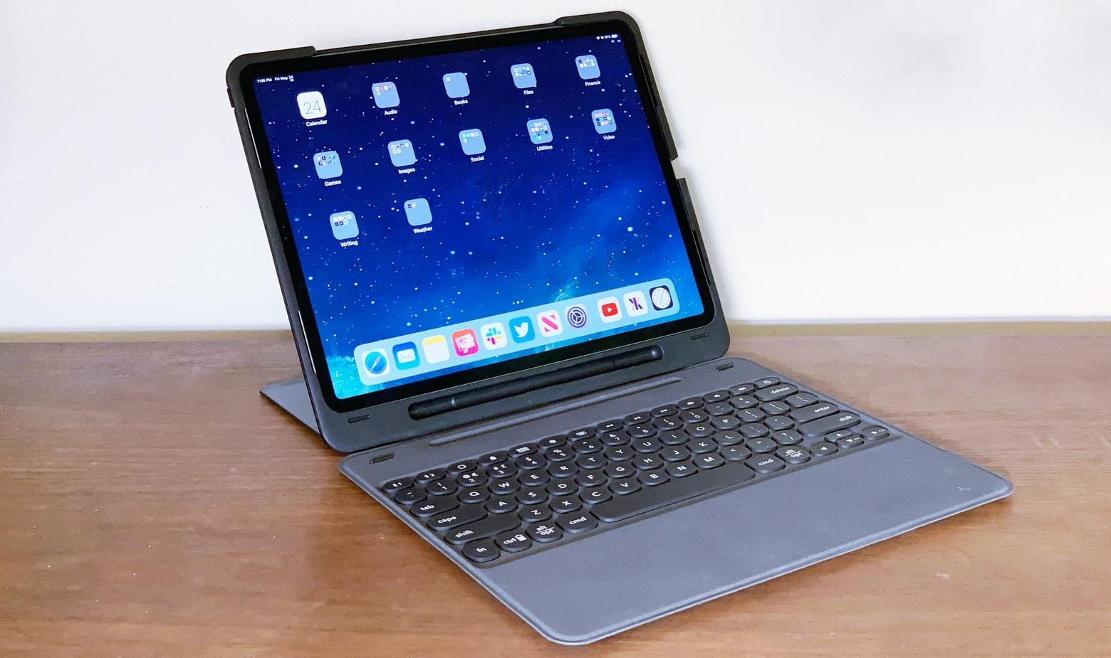 Zagg Slim Book Go review: Transforms iPad Pro into a 2-in..