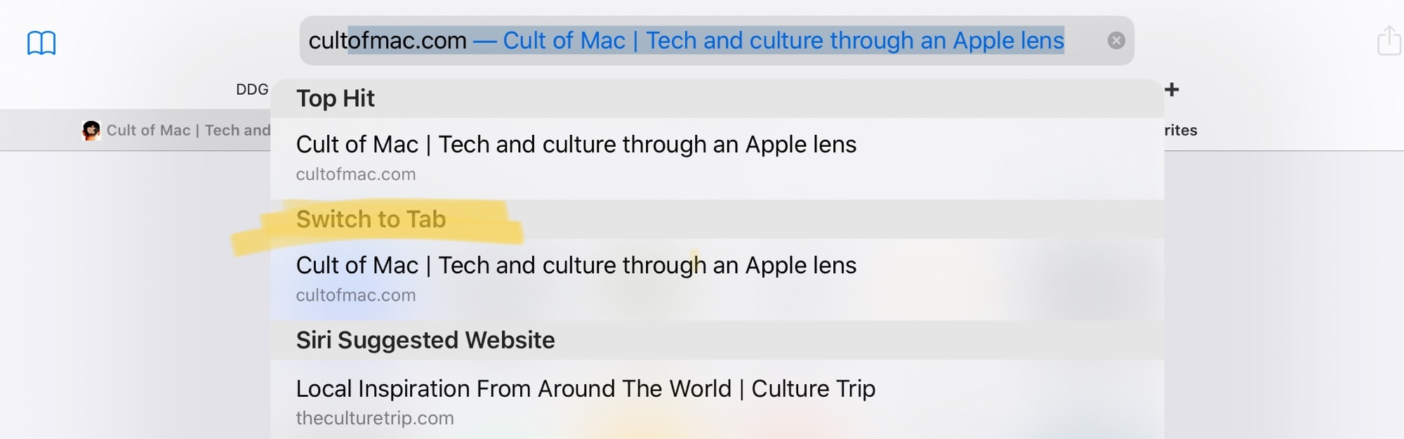 Safari does its best to prevent duplicate tabs in iOS 13.