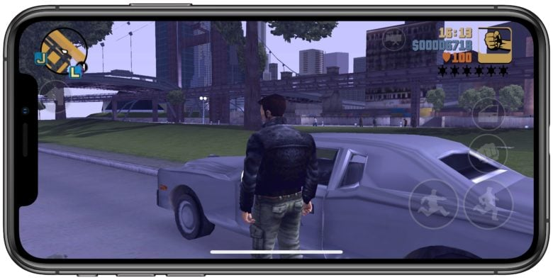 GTA III iPhone XS