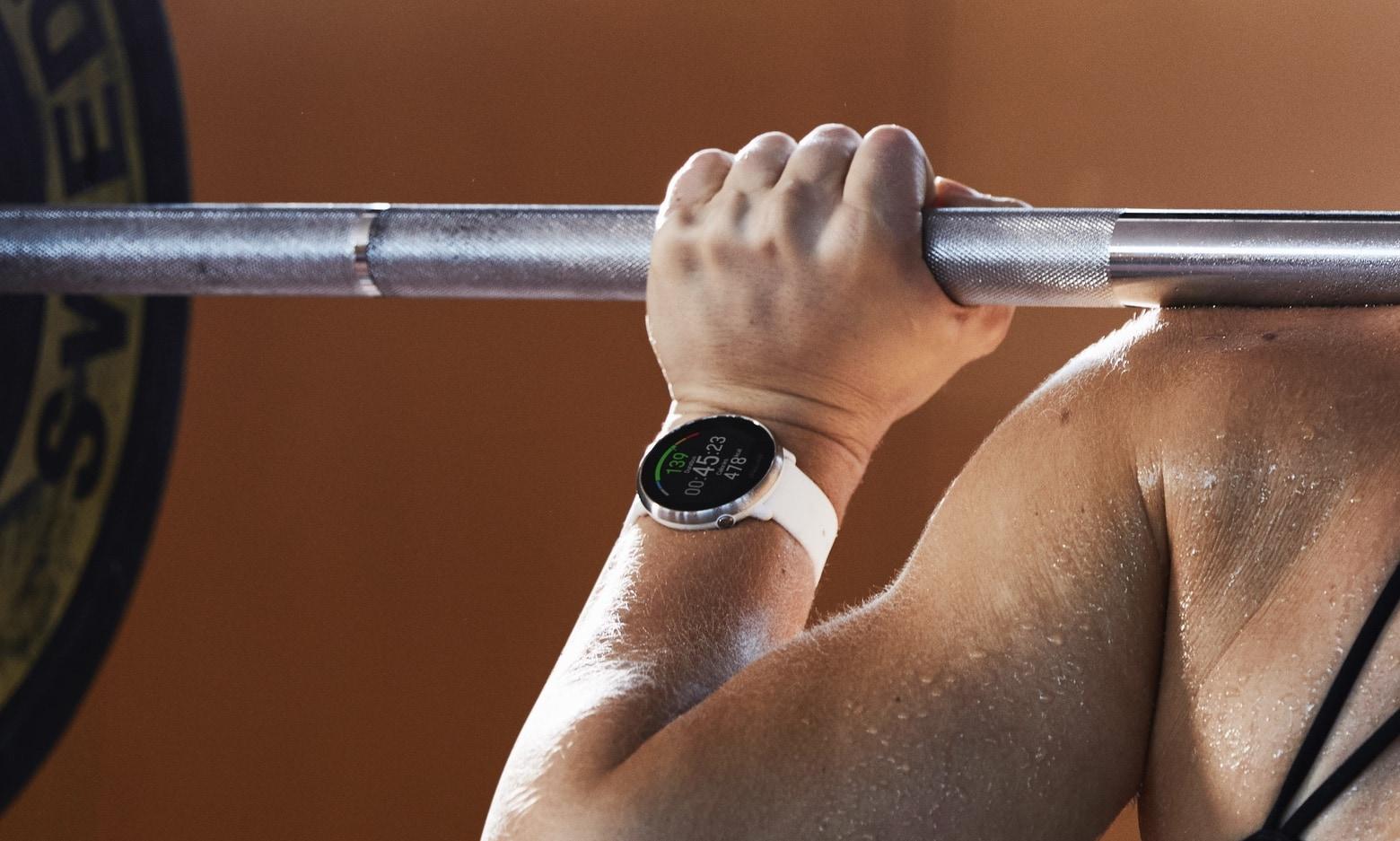 Polar Ignite GPS fitness watch
