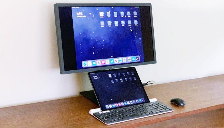 iPad Pro and LG UntraFine 4K
