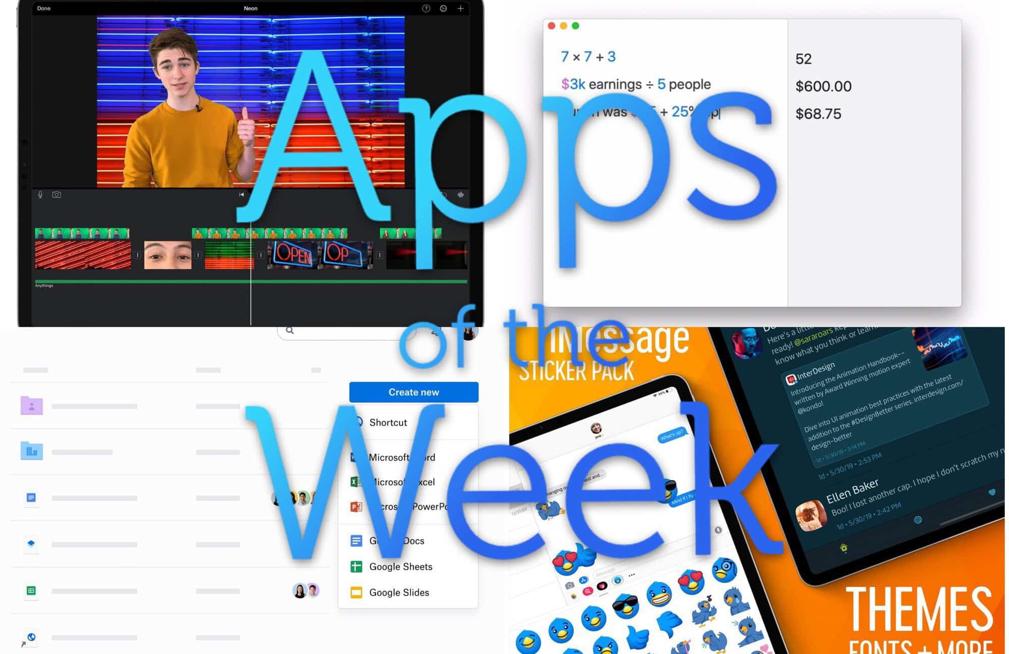 The best (and worst) apps of the week.