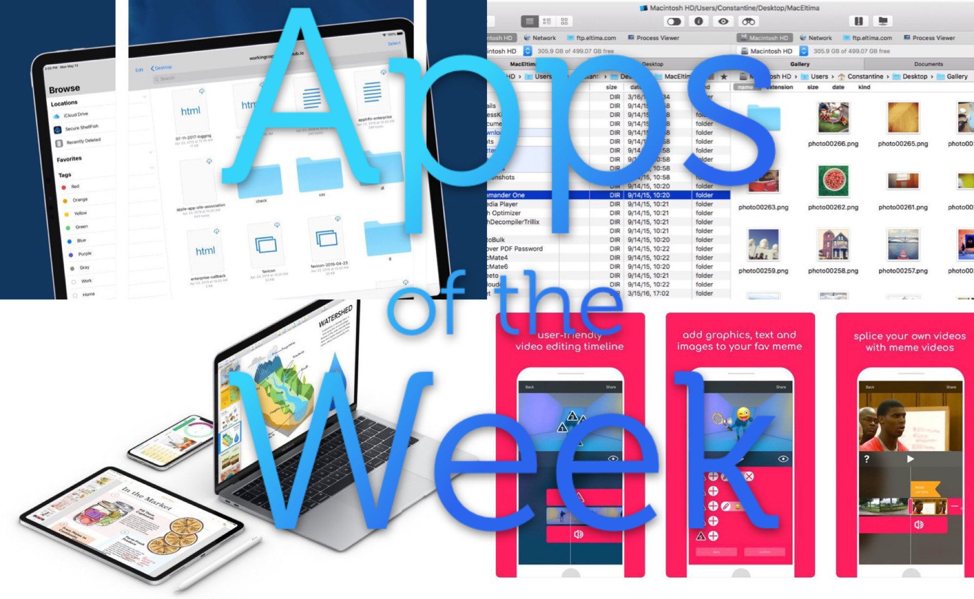 What a sweet suite of apps we have this week.