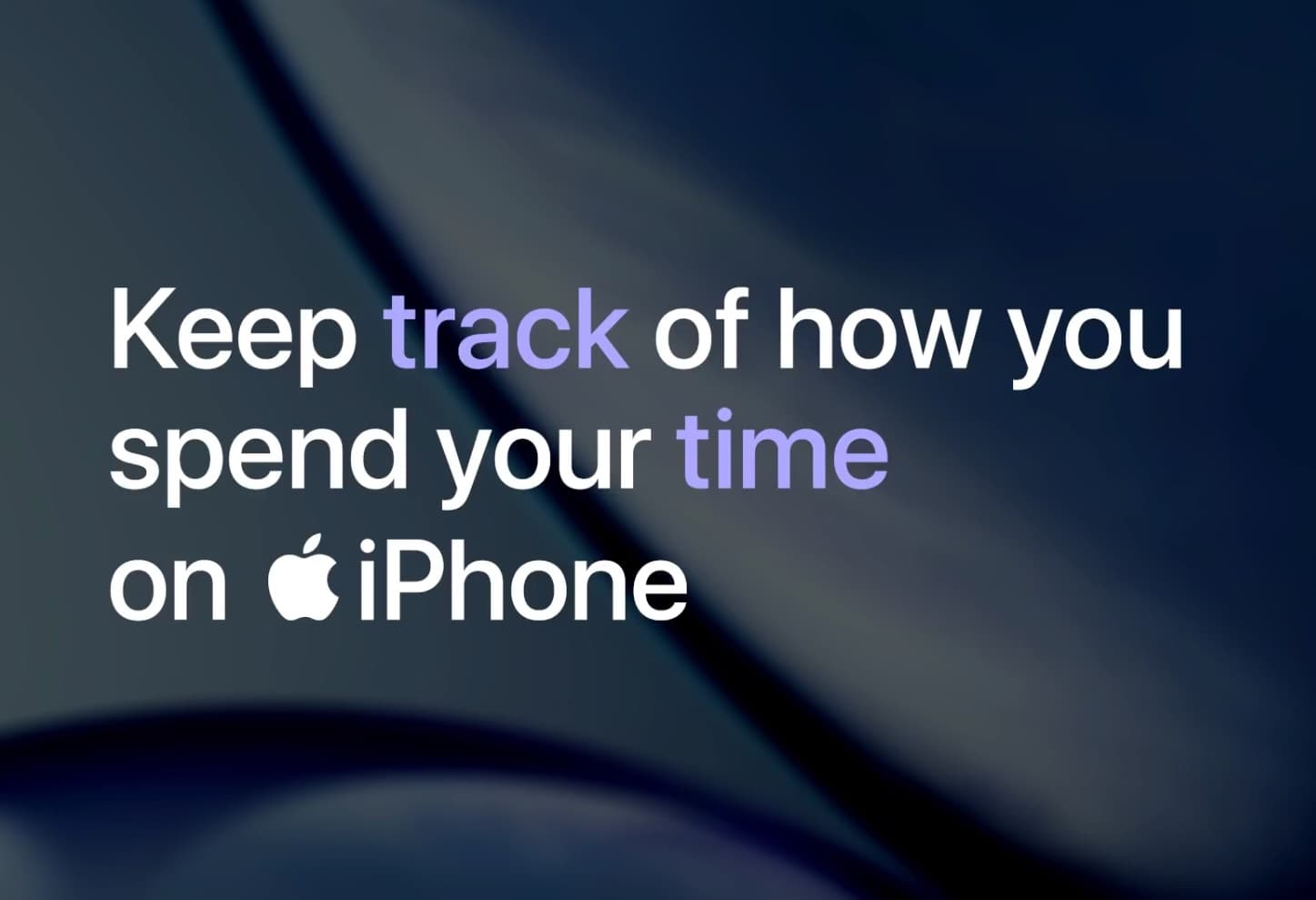 Keep track of how to spend1
