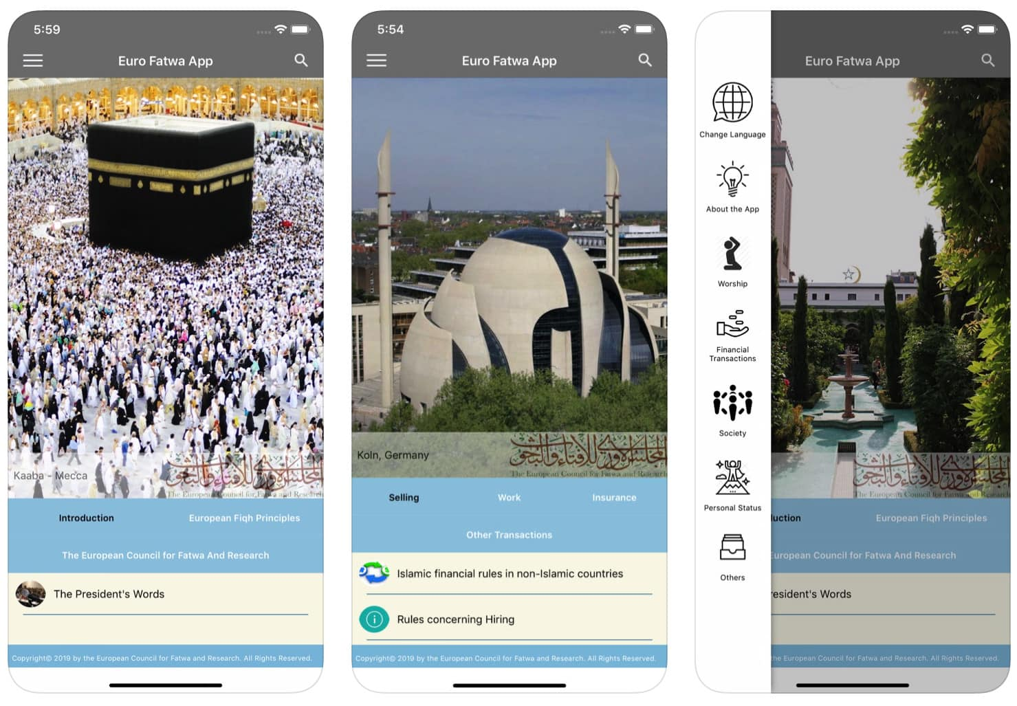 Critics call the Euro Fatwa app a tool for Islamic radicalization.