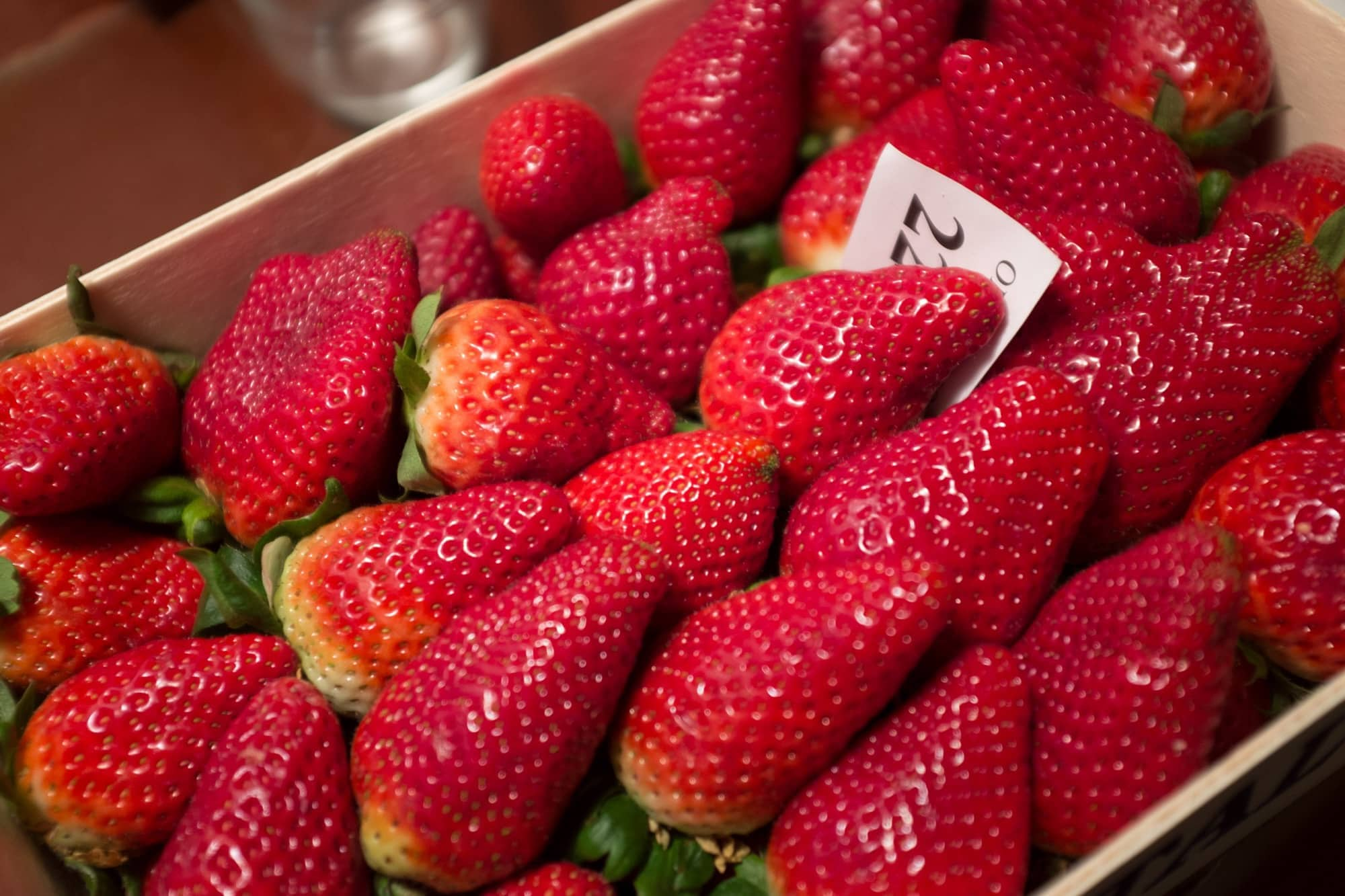 Strawberries multi-select