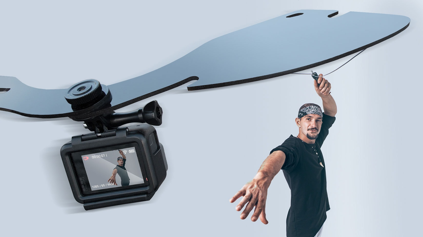 bullet time selfie video gadget