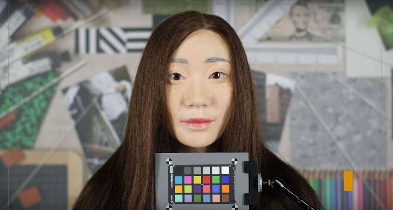 mannequin for selfie camera tests