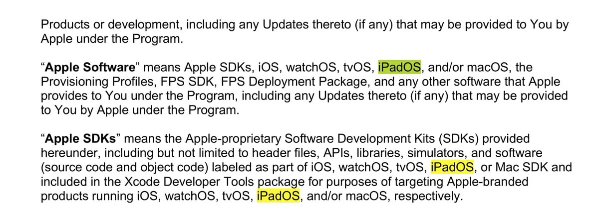 iPadOS is coming.