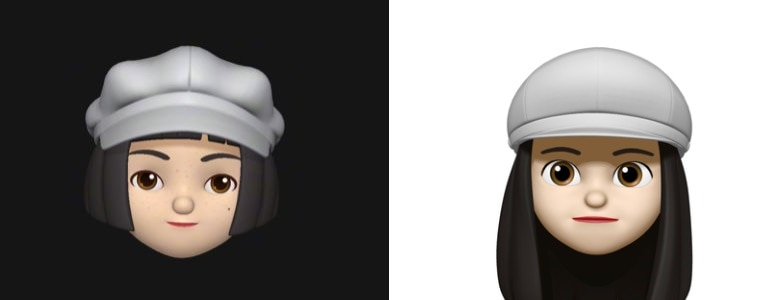 Xiaomi Mimoji vs. Apple Memoji