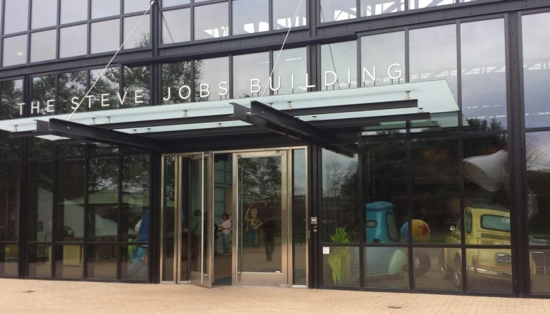 Steve Jobs sweated the details of the Steve Jobs Building on the Pixar campus in Emeryville, California.