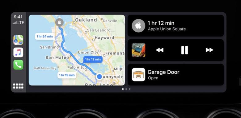 CarPlay Dashboard in iOS 13