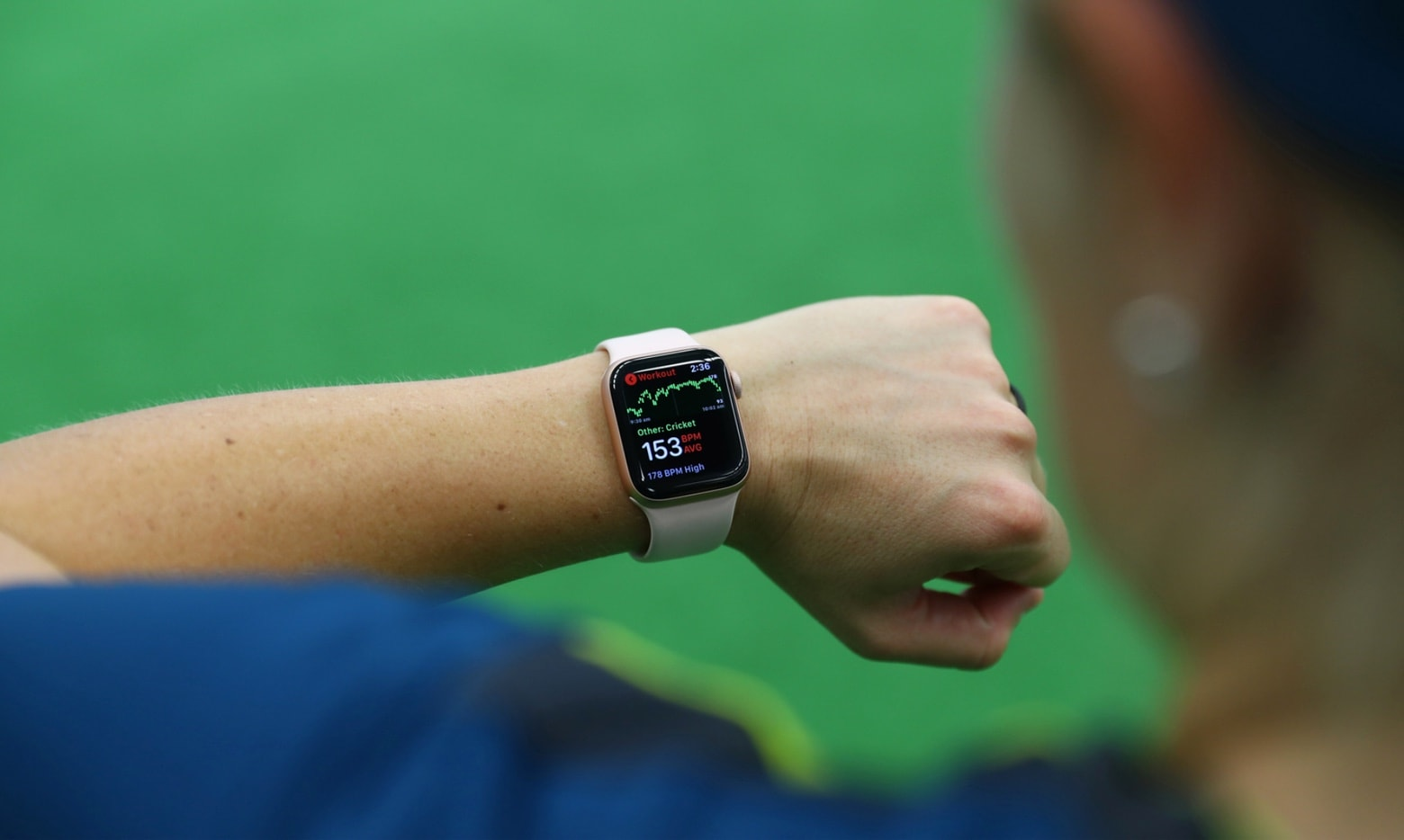 Apple Watch app to monitor athletic performance