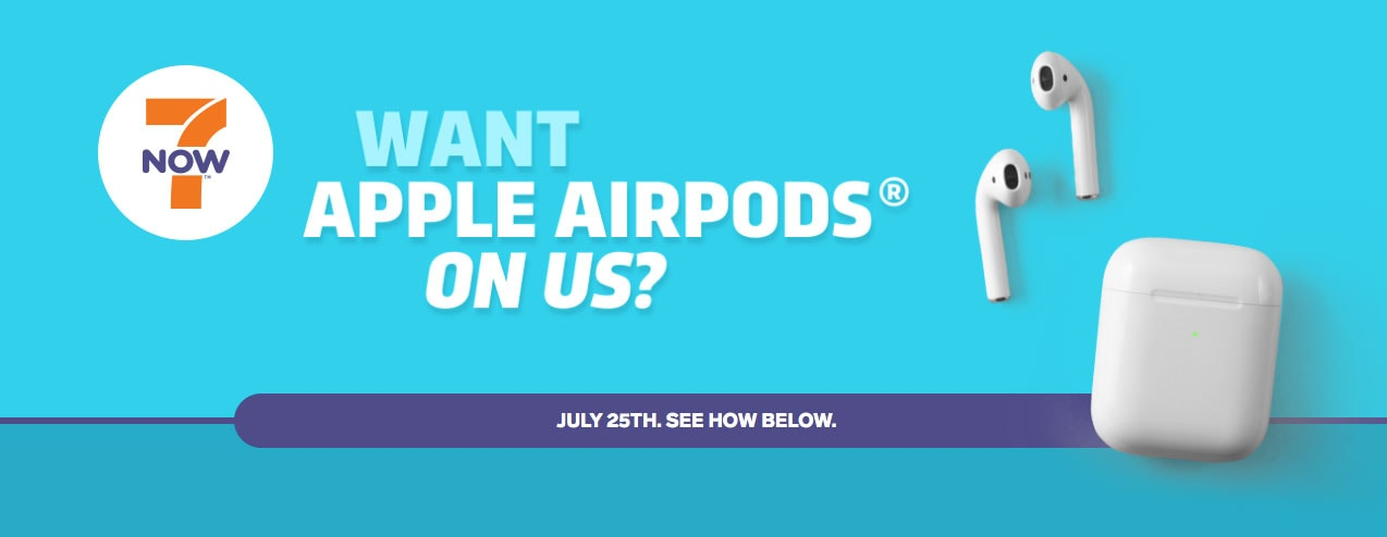 7-Eleven will give away 500 sets of AirPods