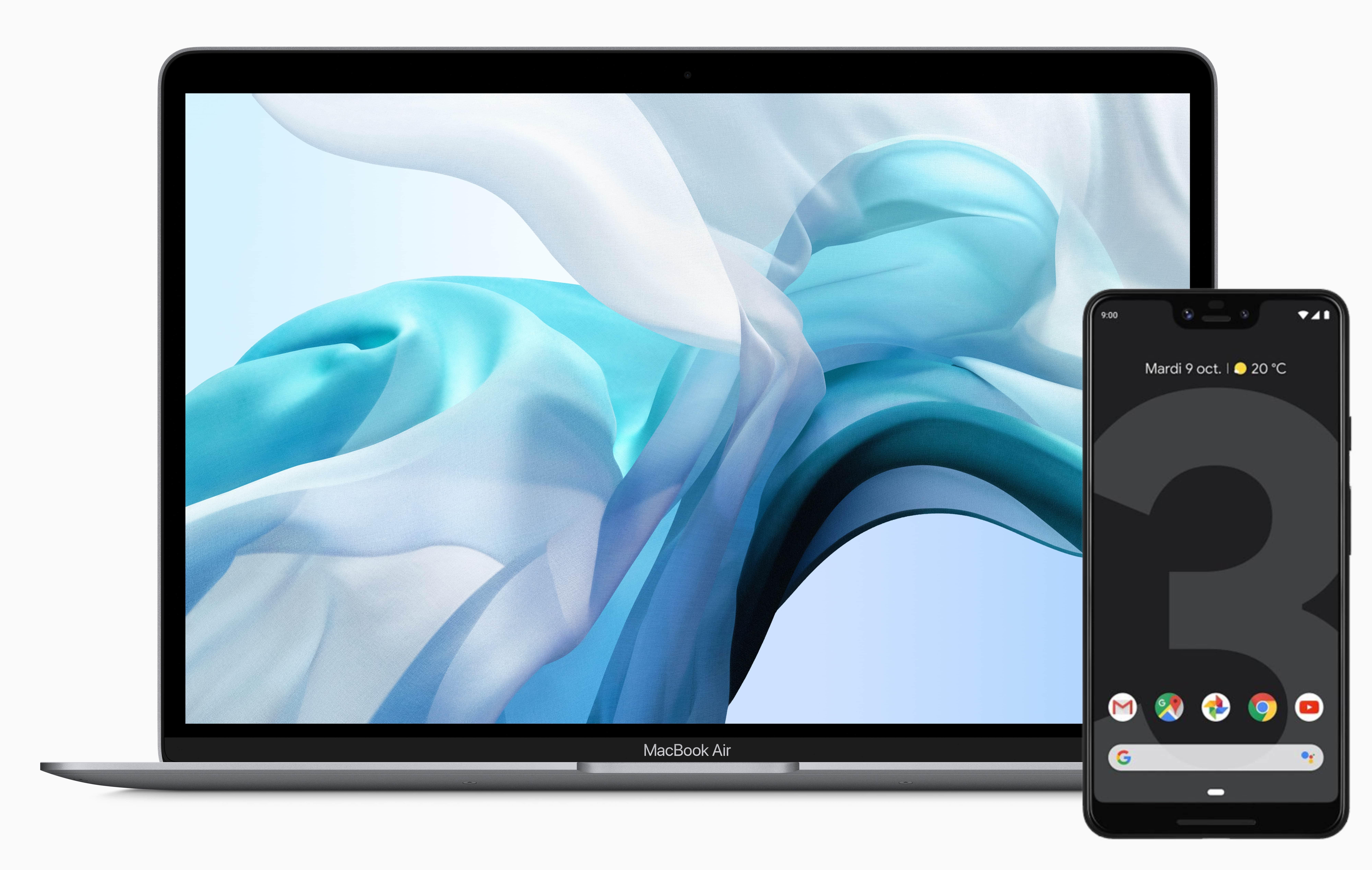 MacBook-Pixel-3-Android