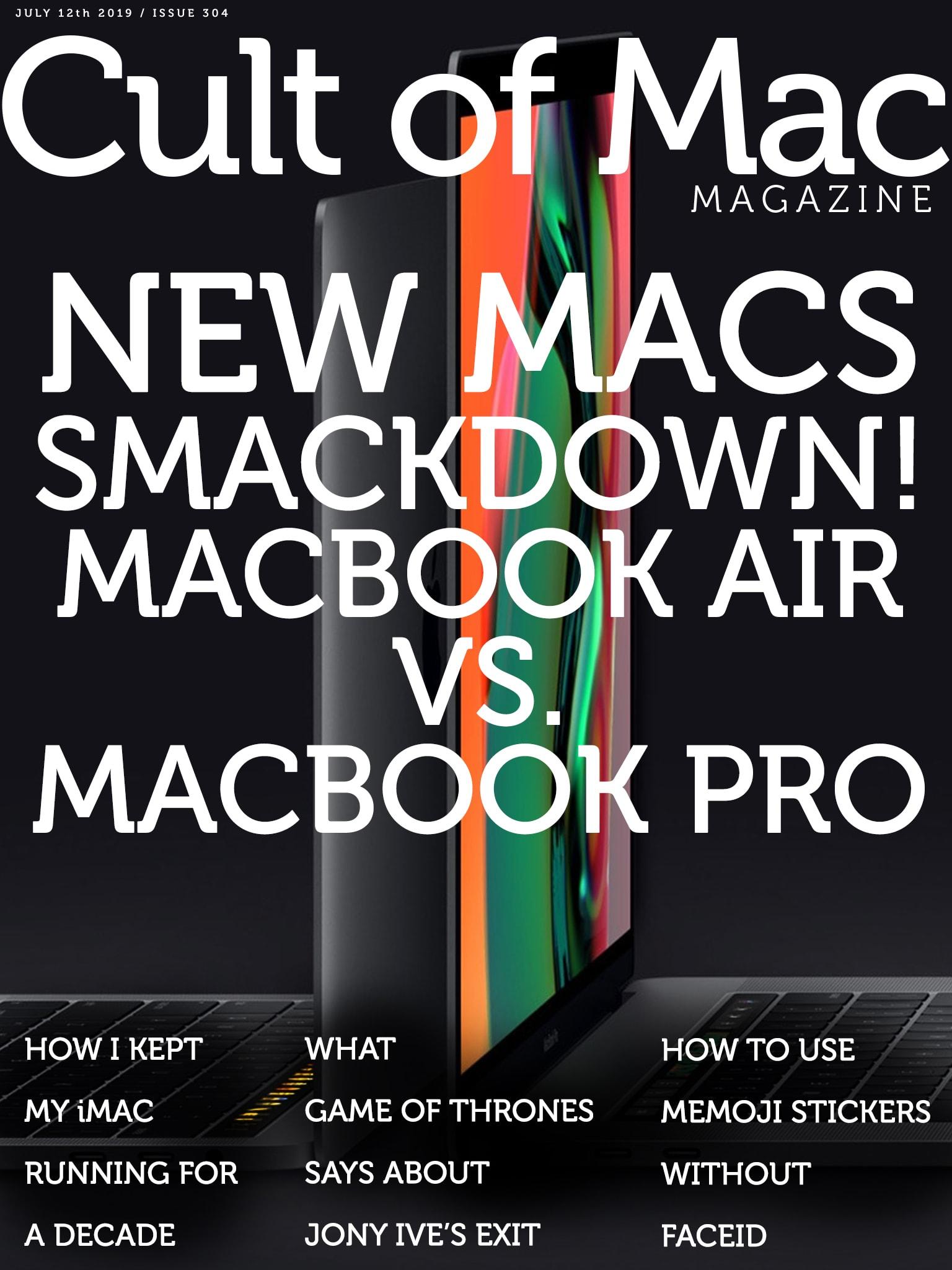 New Macs smackdown in Cult of Mac Magazine No. 304