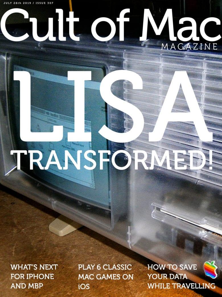 Apple Lisa, transformed! Cult of Mac Magazine No. 307