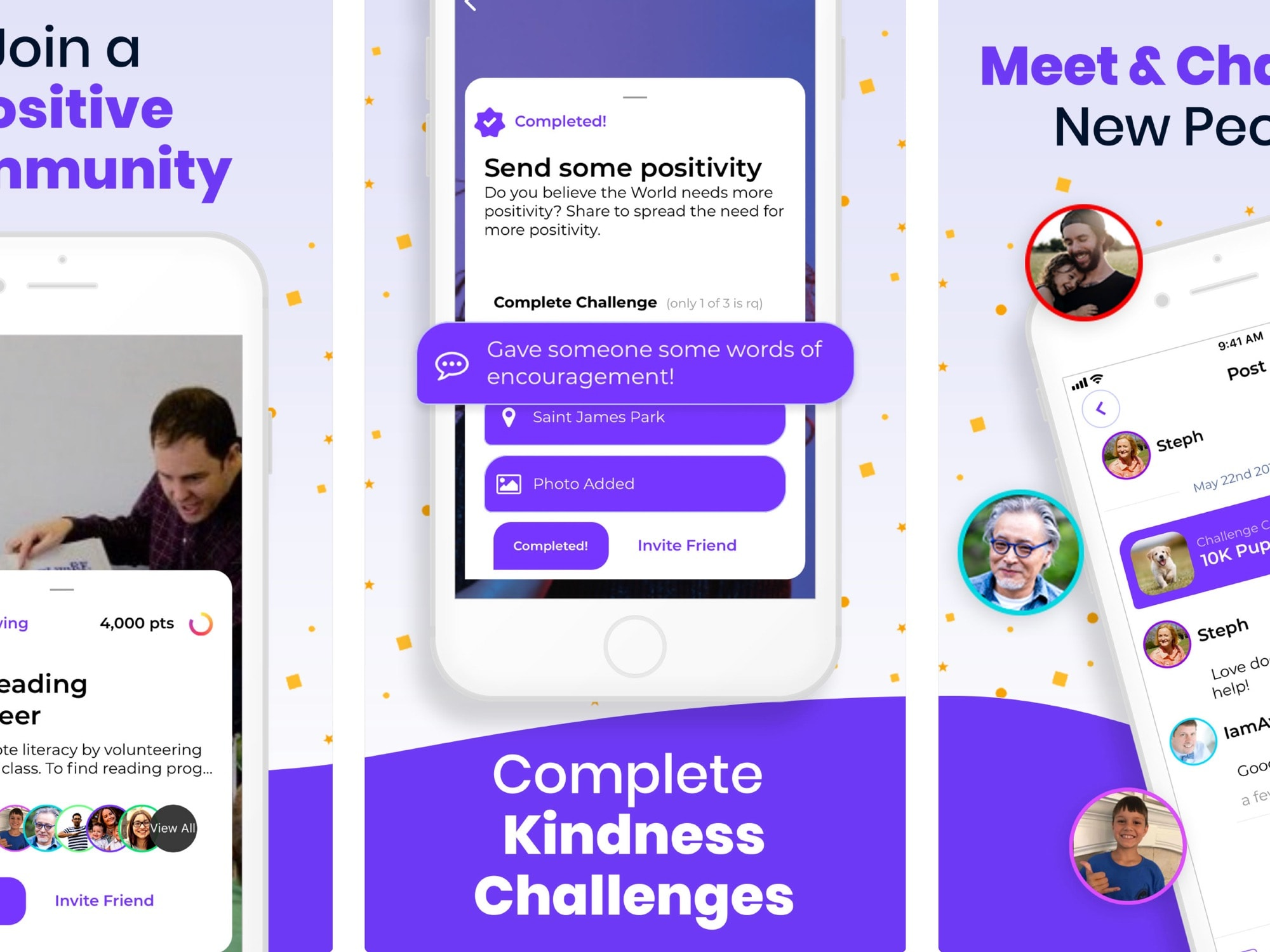 Awesome is a new social network, kind of the Instagram for kindness.