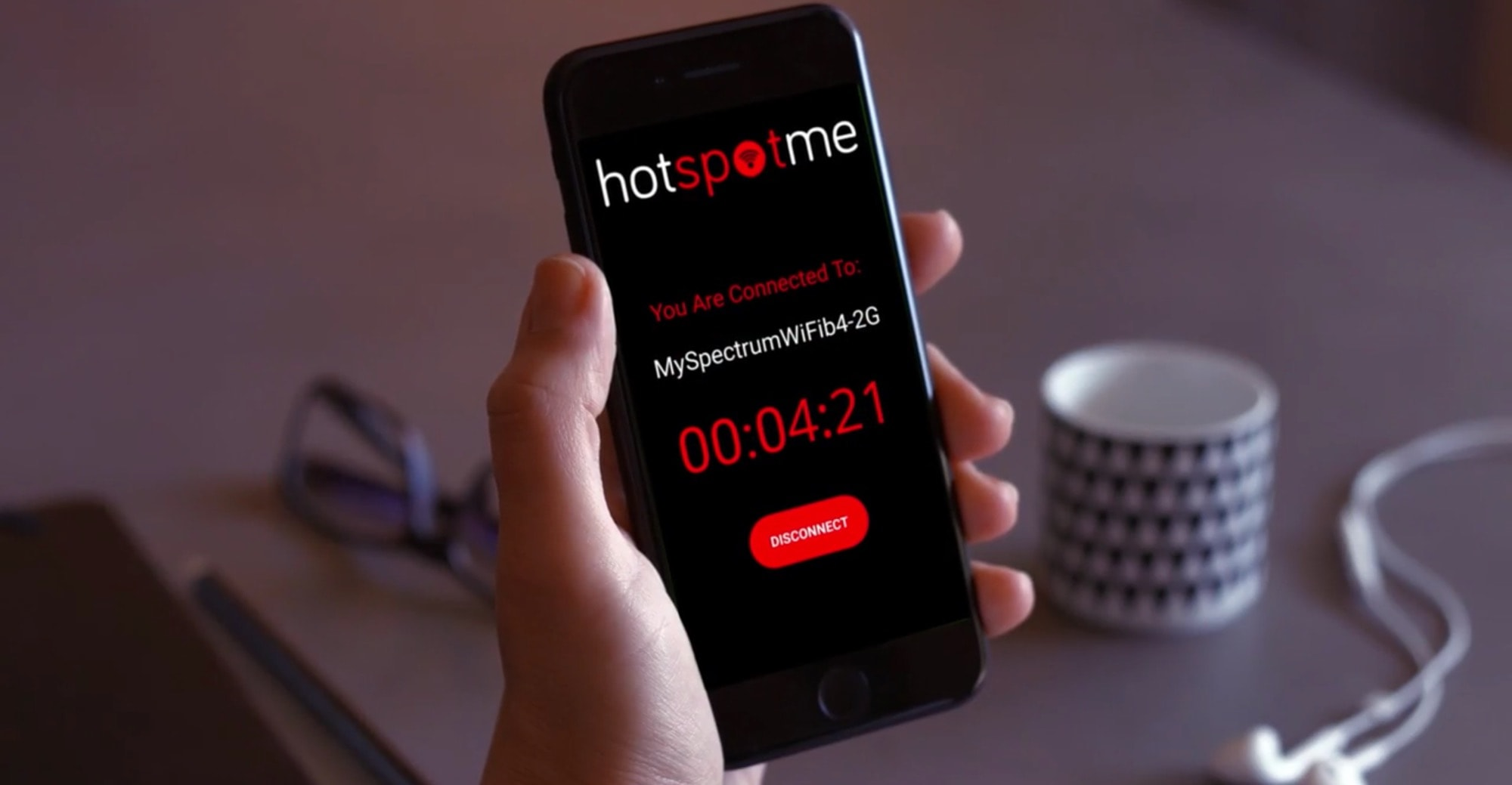 HotSpotMe lets you share your Wi-Fi hotspot with anyone.