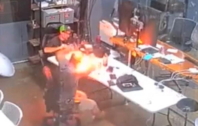 DIY iPhone repair blows up