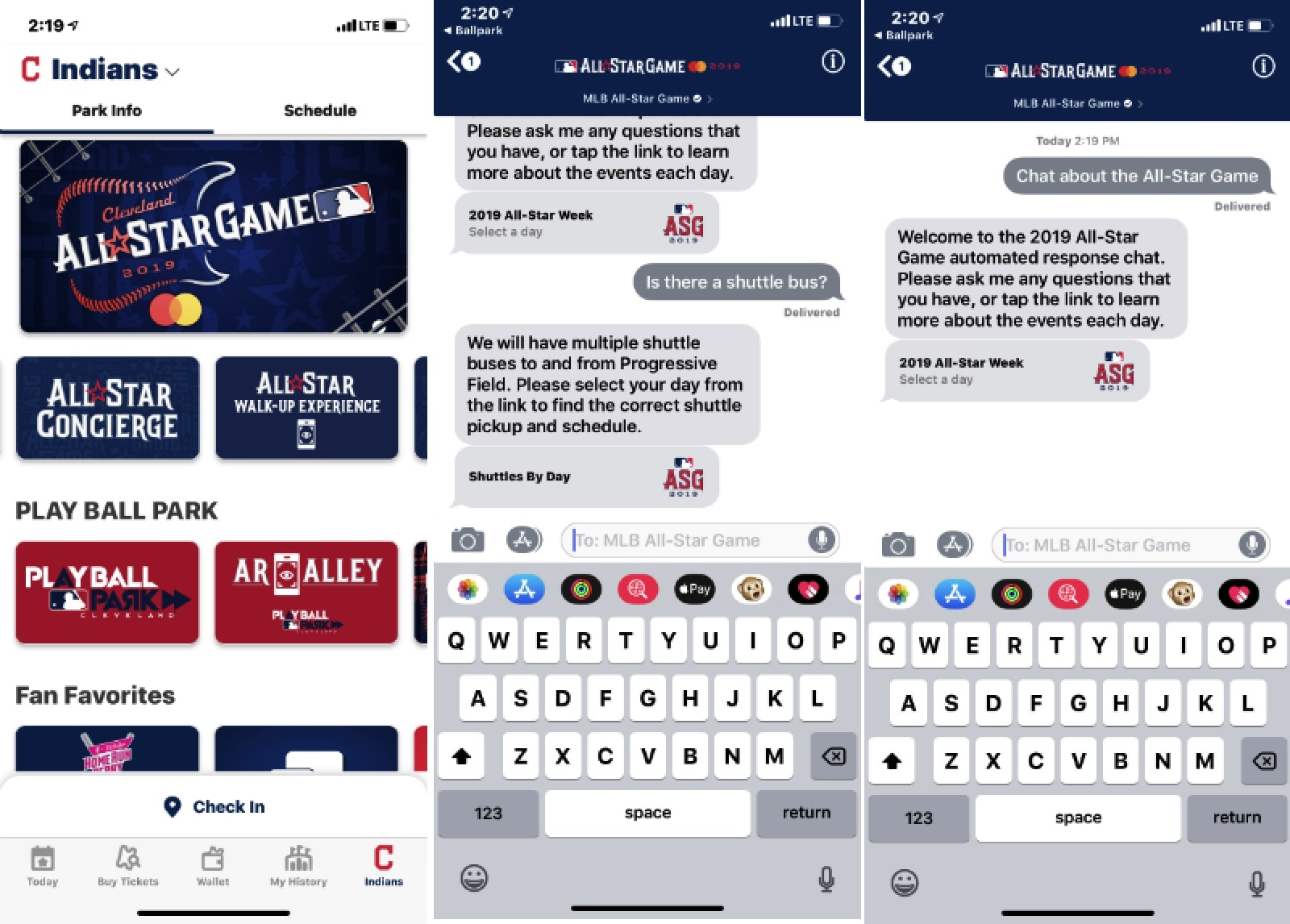 MLB App Uses Business Chat to Make your Ballpark Trip Easier