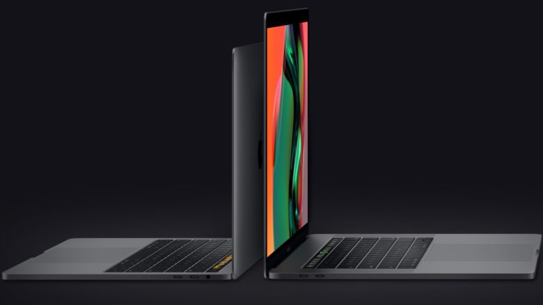 The MacBook Pro has a Touch Bar, and a better display.