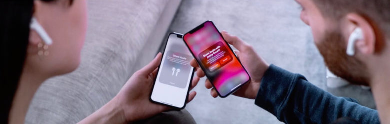 Audio sharing in iOS 13