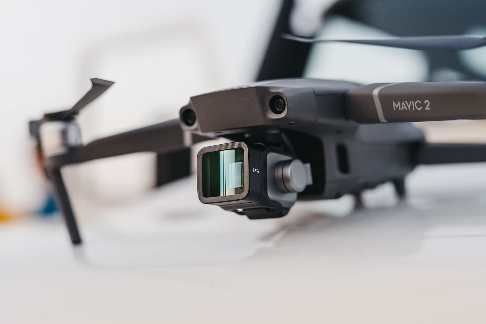 anamorphic lens for DJI drones