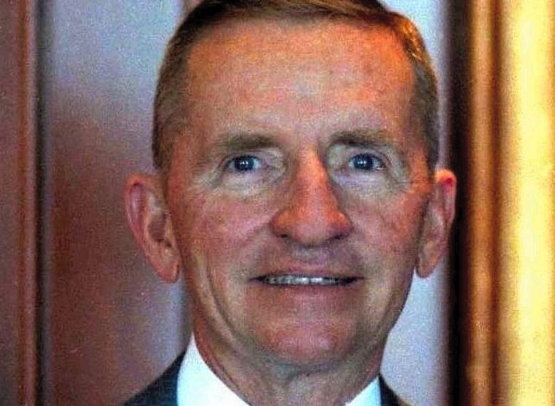 Ross Perot pictured in 1986, the year he first met Steve Jobs.