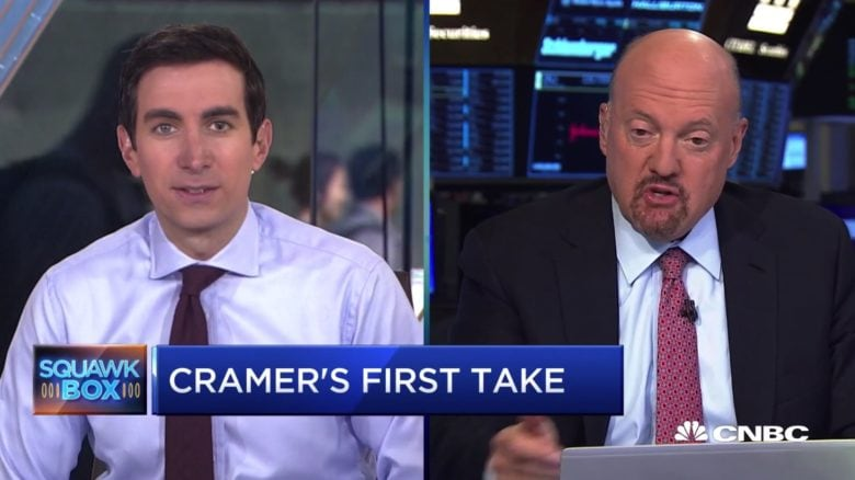 Apple stock could rise, according to analyst Jim Cramer.
