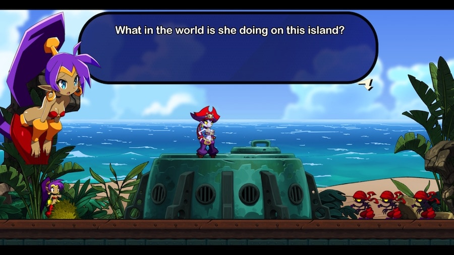 Shantae screen