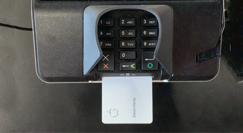 Apple Card in POS