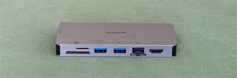 Inateck 8-in-1 USB-C Hub ports