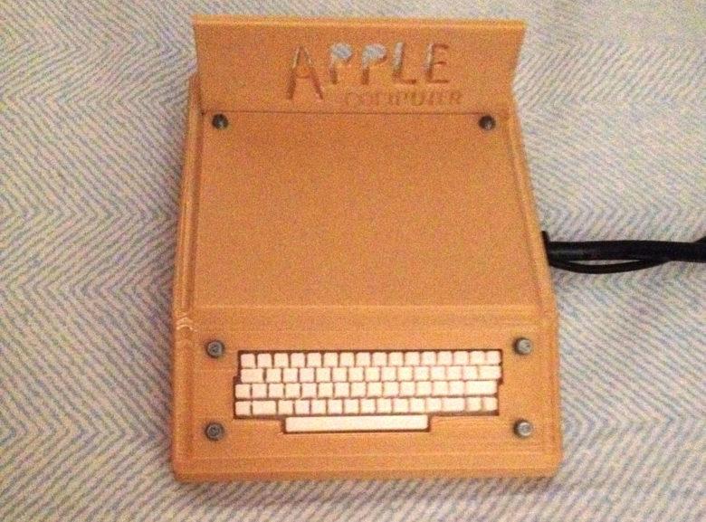 3d printed Smithsonian Apple 1