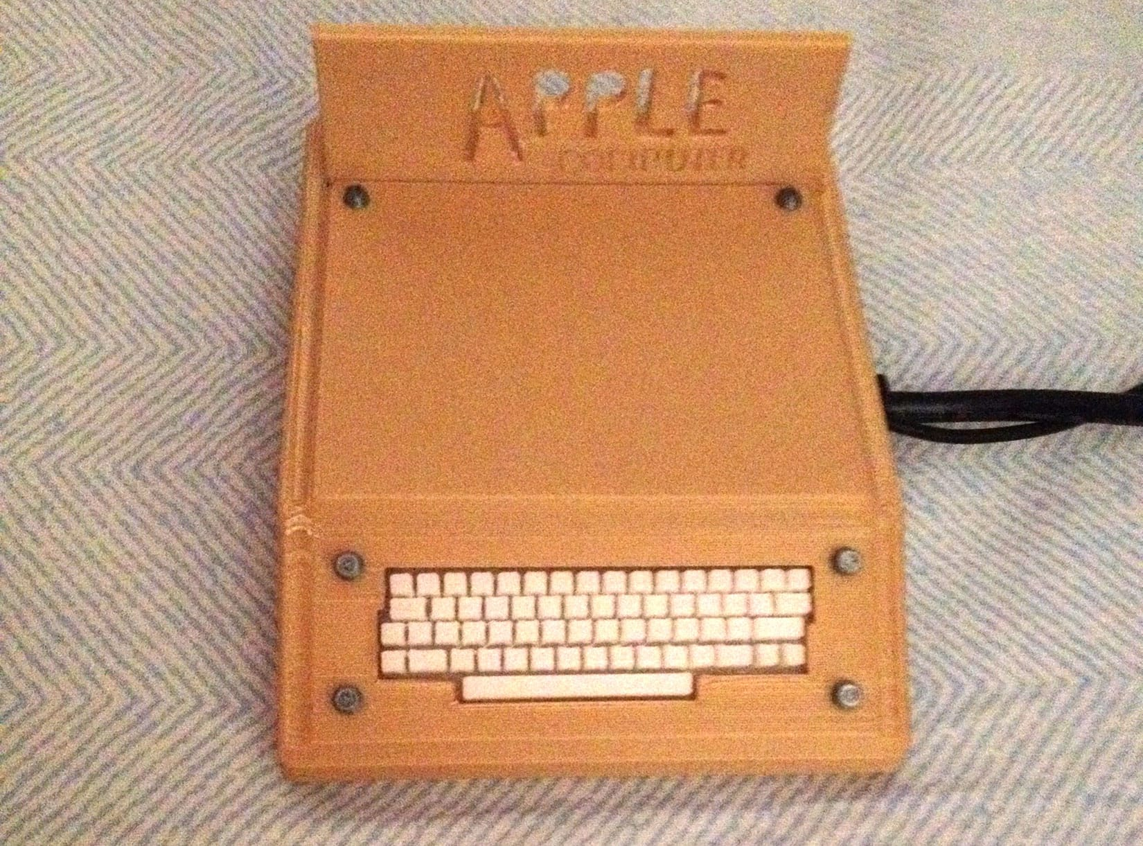 3d printed Smithsonian Apple 1
