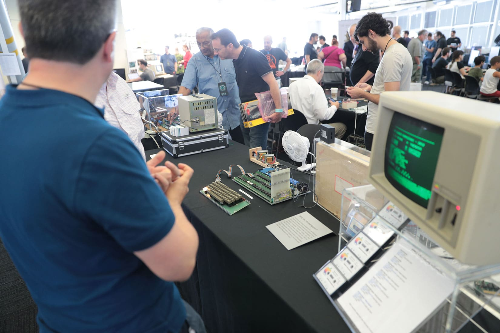 Apple 1 collection at Vintage Computer Festival West