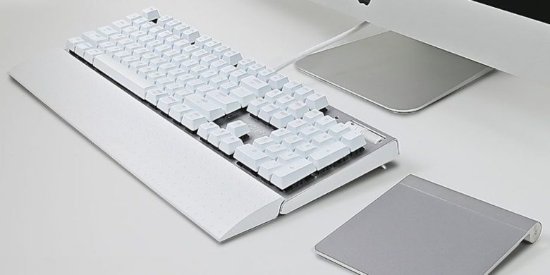 Azio MK MAC USB Keyboard: This minimalist, tactile keyboard will enhance your Mac's functionality and style