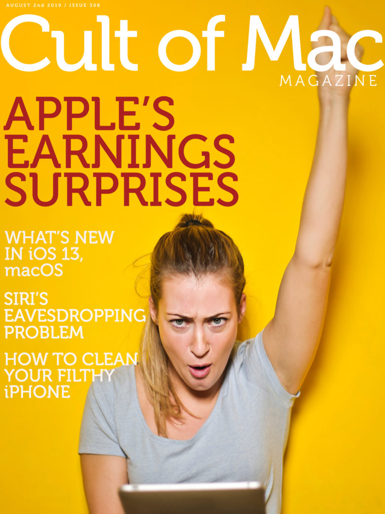 Find out about Apple's big earnings surprises in Cult of Mac Magazine No. 308