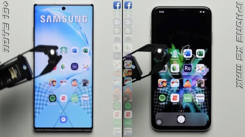 Samsung Galaxy Note 10+ vs. iPhone XS Max