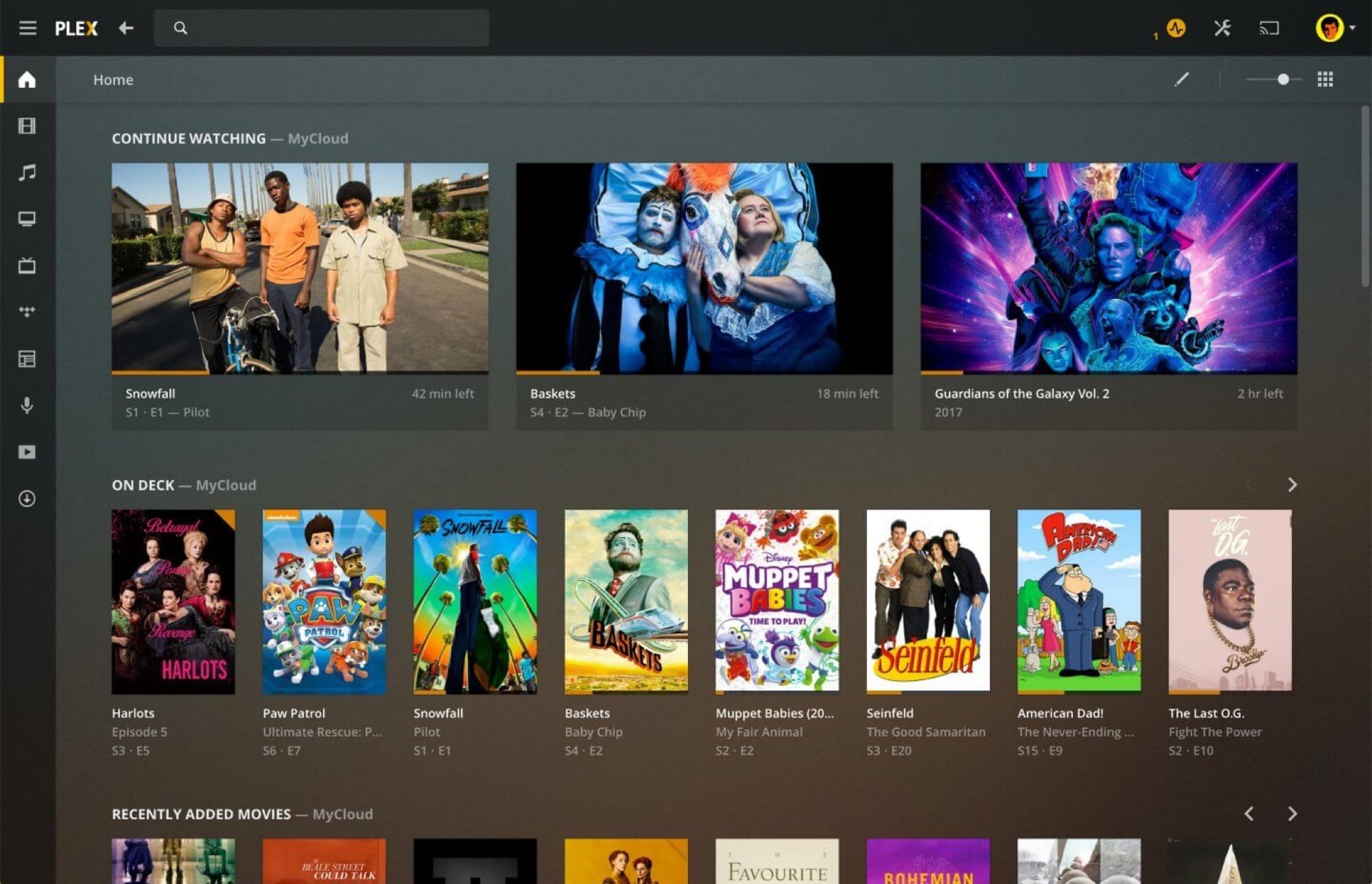 A real Plex app for the Mac.